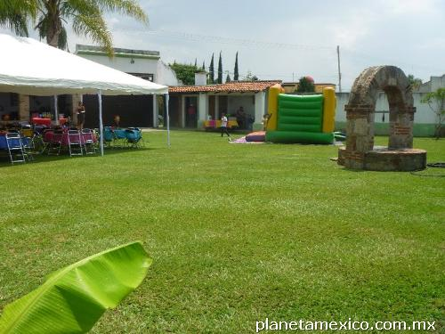 Se Renta Hermoso Jardín Y Terraza Para Todo Tipo De Eventos