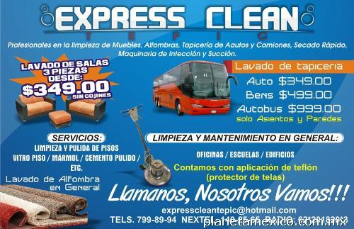 Express clean tepic limpieza de muebles alfombras pisos y for Limpieza de muebles