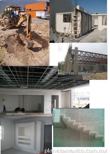 Fotos de construcci n residencial comercial e for Casas en monterrey