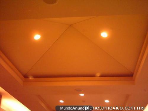 Fotos de tablaroca y plafones de san juan en san juan del rio for Plafones de techo y pared