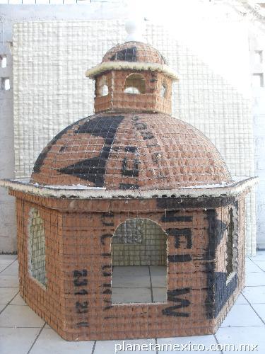 Muebles Casas : Fotos de cúpulas panel prefabricadas listas para enjarrar