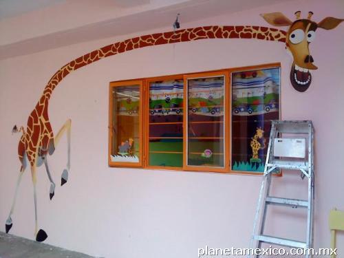 Fotos de dise o gr fico de murales escolares y decorador for Diseno de recamaras infantiles