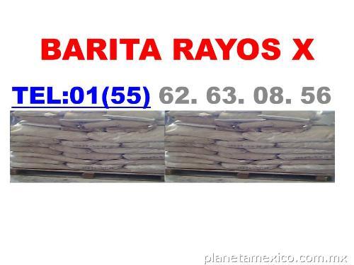 L minas de plomo barita sulfato de bario en azcapotzalco for Cuarto de rayos x