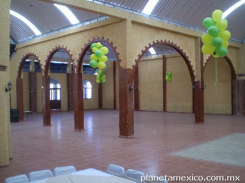 Fotos de sal n de eventos en tizayuca finca villa jard n for Salon jardin villa charra toluca