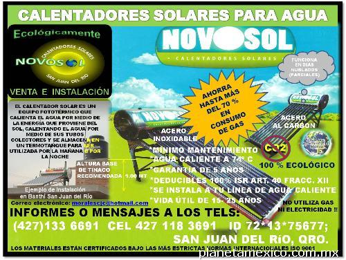 Calentadores Solares Para Agua Venta E Instalaci 243 N En San