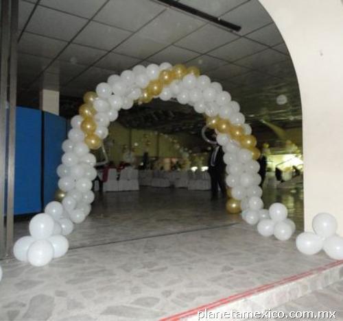 Fotos de decoraciones con globos df excelentes precios en for Decoracion con globos precios