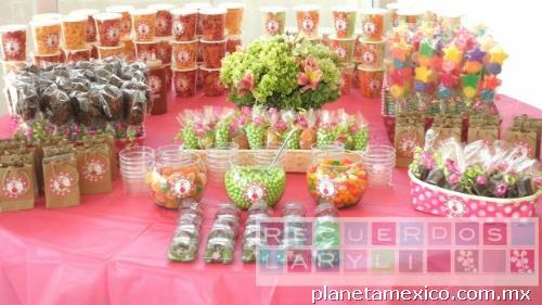Decoración de mesas con dulces - Imagui