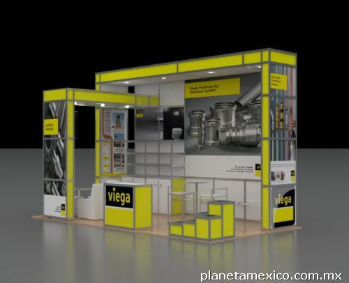 Montaje de stands y dise os para exposiciones en monterrey for Disenos de stand para exposiciones