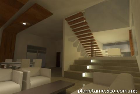 Fotos de construcci n de casas minimalistas en quer taro for Construccion de casas minimalistas en argentina