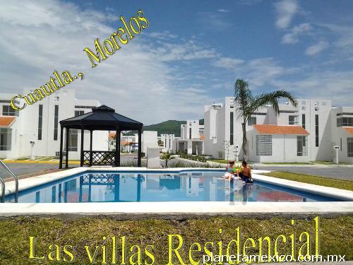 Fotos de casa con alberca cuautla morelos las villas for Villas residencial cuautla