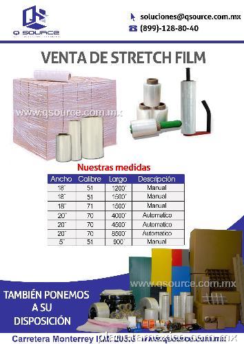 Película estirable Stretch Film en Reynosa: teléfono