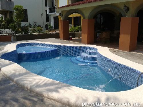 Acuamaz albercas jacuzzi en mazatlan for Cuanto sale hacer una piscina en chile