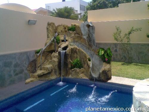Acuamaz albercas jacuzzi en mazatlan for Cuanto sale construir una piscina