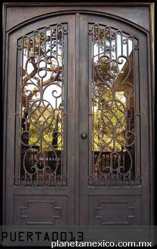 Fotos de puertas de herrer a art stica en puebla - Puertas de herreria ...