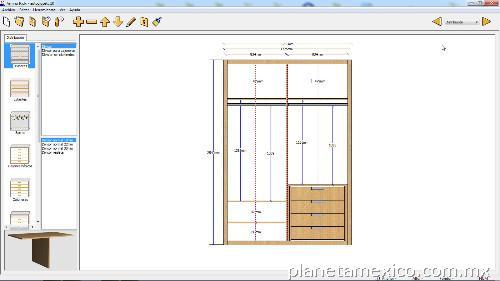 Programa fabricaci n cocinas closets carpitneria en alvaro for Programa diseno habitaciones