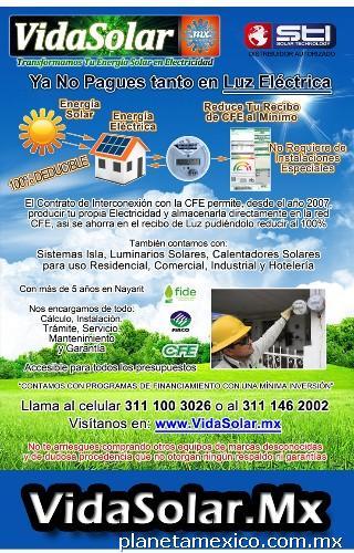 Fotos de Vida Solar Sistemas Fotovoltaicos y Calentadores ...