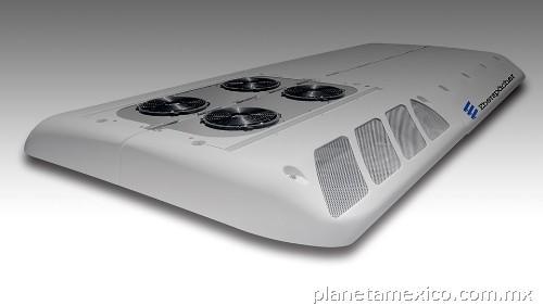 Aire acondicionado para autobuses y cajas refrigeradas en for Caja aire acondicionado