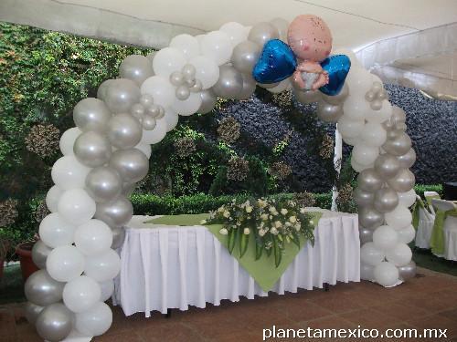 Decoracin con globos affordable imagen with