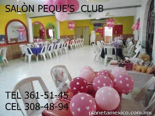 Fotos de sal n de fiestas peques club en ciudad madero for Salon des eta