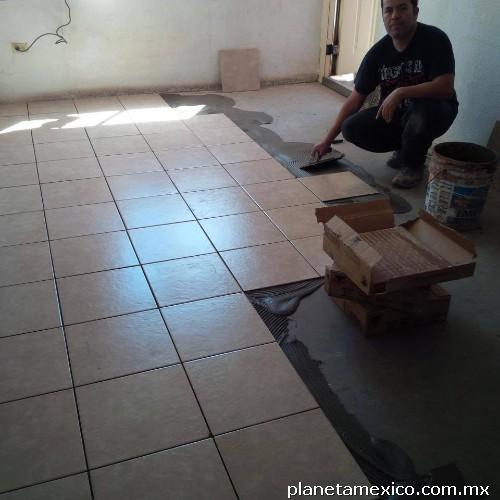 Instalaci n loseta y azulejo en mexicali tel fono for Loseta vinilica precio