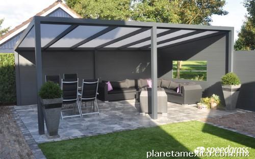Domos techos terrazas toldos policarbonato en reynosa for Techos de policarbonato para balcones