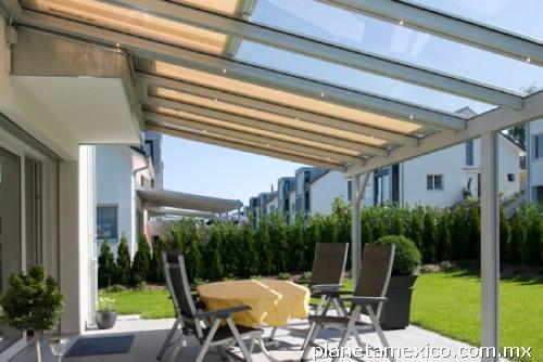 Fotos de domos techos terrazas toldos policarbonato en reynosa for Techos terrazas fotos