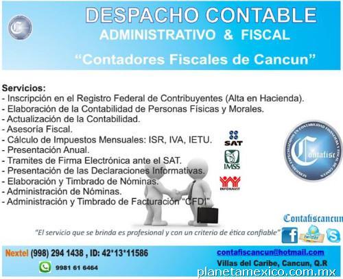 Despacho Contable En Cancún: Teléfono