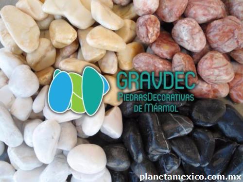 Piedra bola de m rmol para jardiner a en santiago de - Piedra para jardineria ...