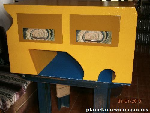 Creaci n de muebles de cart n en puerto vallarta for Muebles de carton precios