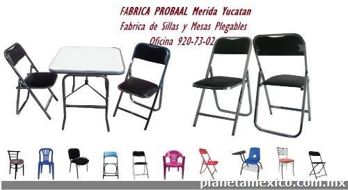 Refacciones de sillas y mesas f brica probaal benito for Fabrica de sillas para oficina
