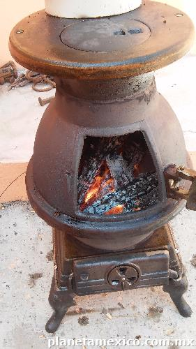 Estufa y chimenea de le a antiguas en guadalajara - Estufa antigua de lena ...