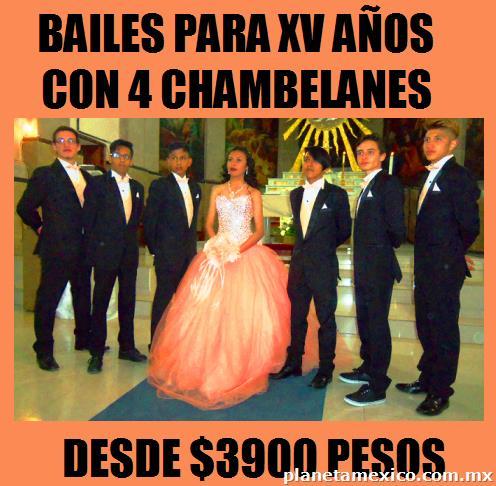 e8602f263 Bailes Para Xv Años Con 4 Chambelanes Desde  3